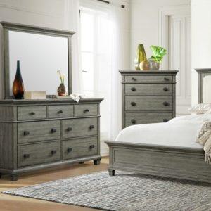 Crawford Dresser W/ Mirror