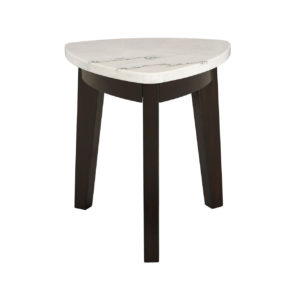 Francis Marble Top End Table