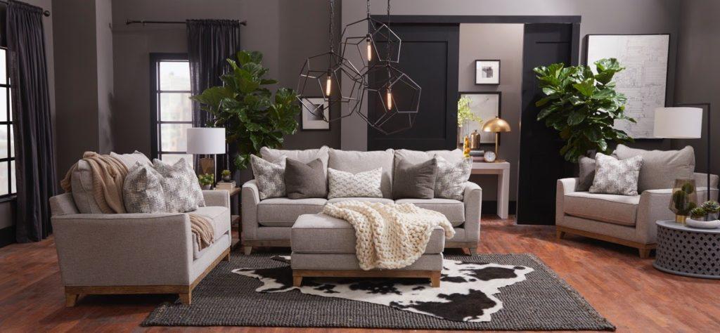 living room grey furniture