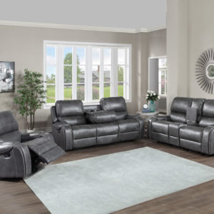 Keily Grey Motion Sofa