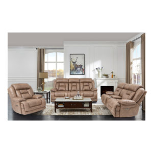 Hawthorne Power Loveseat with Console Tumbleweed